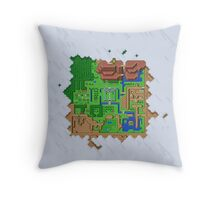 Realms of Hyrule Throw Pillow