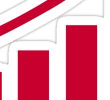 Chart growth profit Sticker