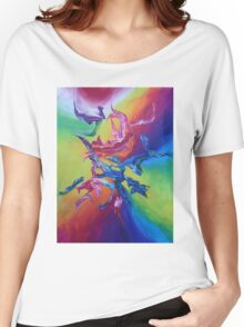 """Hanzi"" original artwork by Laura Tozer Women's Relaxed Fit T-Shirt"