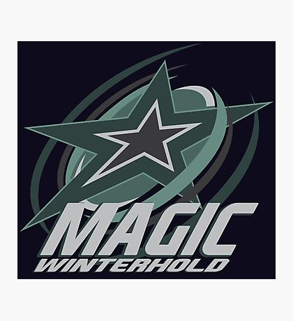 Winterhold Magic Photographic Print