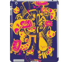 wild monster in the dark iPad Case/Skin