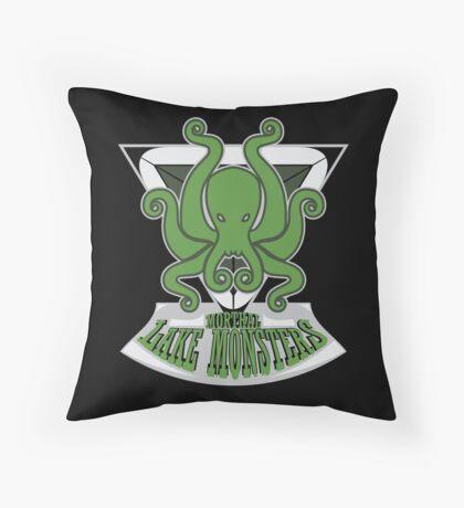 Morthal Lake Monsters Throw Pillow