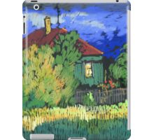 Late evening in a Russian village iPad Case/Skin