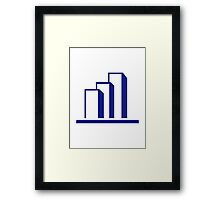 Diagram Chart Framed Print
