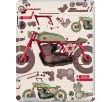 my custom motorbike iPad Case/Skin