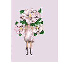 Magnolia Girl Photographic Print