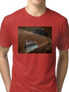 Abandoned 1957 Cadillac Detail Tri-blend T-Shirt