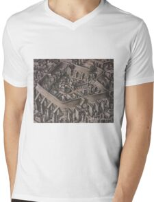 The Walled City Mens V-Neck T-Shirt