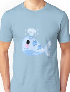 Kawaii Whale  Unisex T-Shirt