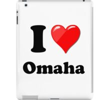 I Love Omaha iPad Case/Skin