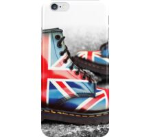 Union Jack Custom Dr. Martens iPhone Case/Skin