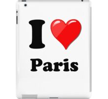 I Love Paris iPad Case/Skin