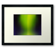 The Once Upon a Time Collection - Green Magic Framed Print
