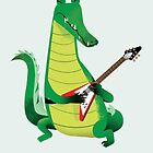 Crocodile Rock by drawgood