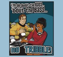 All about the BASS, no Tribbles. Kids Tee