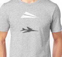 A flight of imagination (Harrier Jump Jet) Unisex T-Shirt