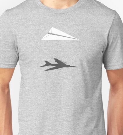 A flight of imagination (Harrier Jump Jet) Unisex T-Shirt