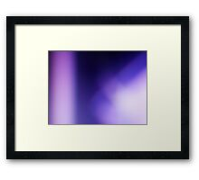 The Once Upon a Time Collection - purple magic Framed Print