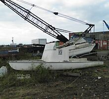 Chase Boat for use in boat race by Terry Senior