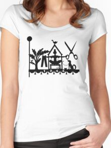 Different Things in 1944 Women's Fitted Scoop T-Shirt