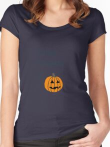 Gender O'Lantern Women's Fitted Scoop T-Shirt