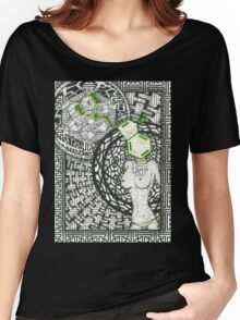 Geo DMT Women's Relaxed Fit T-Shirt