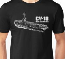 USS Lexington (CV-16) Unisex T-Shirt