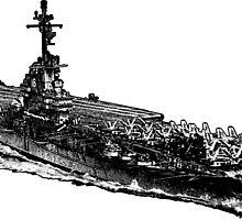 USS Lexington (CV-16) by deathdagger