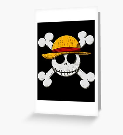 Jack Luffy Greeting Card