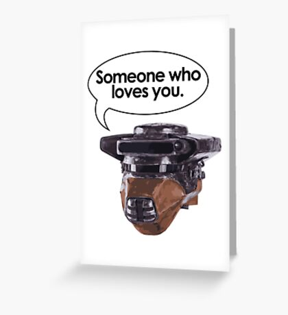 Leia Loves You Greeting Card
