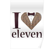 I Heart Eleven Poster