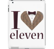 I Heart Eleven iPad Case/Skin