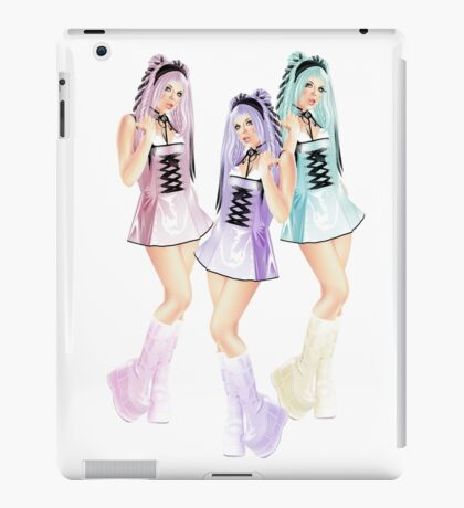 Pinup iPad Case/Skin