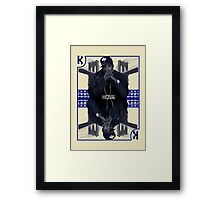 Hip Hop King -- Jay Z Framed Print