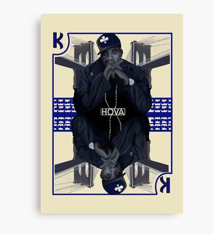 Hip Hop King -- Jay Z Canvas Print