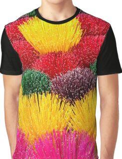 rainbow flowers Graphic T-Shirt