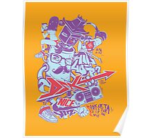 say hip hop with guitar Poster