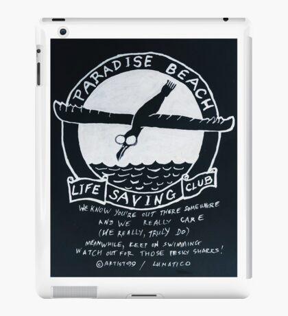 Paradise Beach 1 iPad Case/Skin