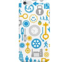Objects on a white iPhone Case/Skin