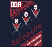 Autobahn 1982 East German Tour T-Shirt Kids Tee
