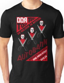 Autobahn 1982 East German Tour T-Shirt Unisex T-Shirt
