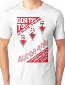 Autobahn 1982 East German Tour T-Shirt Unisex T-Shirt