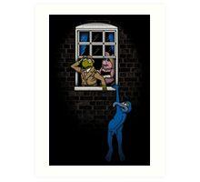 Banksy Muppets Art Print