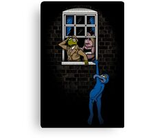 Banksy Muppets Canvas Print