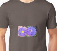Precious Purple Daisies Unisex T-Shirt