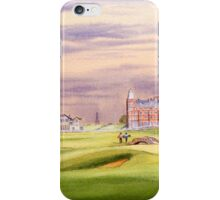 Saint Andrews Golf Course 17Th Green iPhone Case/Skin