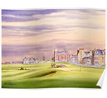 Saint Andrews Golf Course 17Th Green Poster