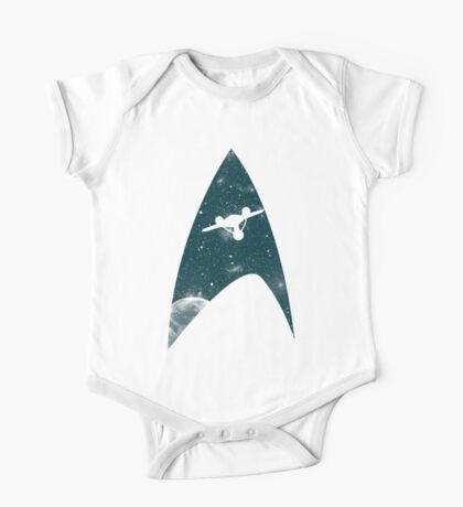 Space the final frontier One Piece - Short Sleeve