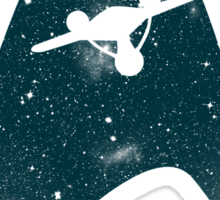 Space the final frontier Sticker