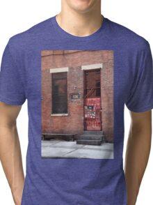 Brooklyn, New York, 126 Front Street Tri-blend T-Shirt